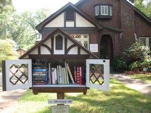 Eudora Welty house with mini house