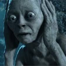 Confused Gollum